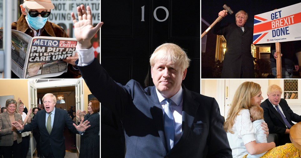 Boris Johnson's first year as PM.