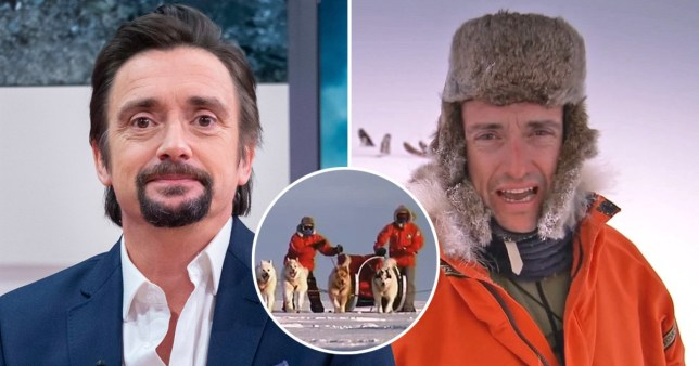 Richard Hammond dragged through dog poo face first filming Top Gear