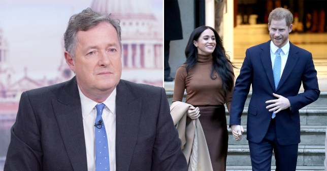 Piers Morgan slams Prince Harry and Meghan Markle in latest Mail Online column