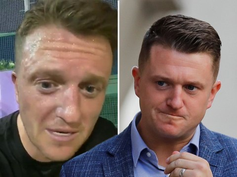 Tommy Robinson flees UK as he 'doesn't feel safe' after 'arson'