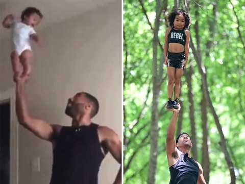 Instagram athletics star, 4, shows incredible moves she hopes will lead to Olympics glory