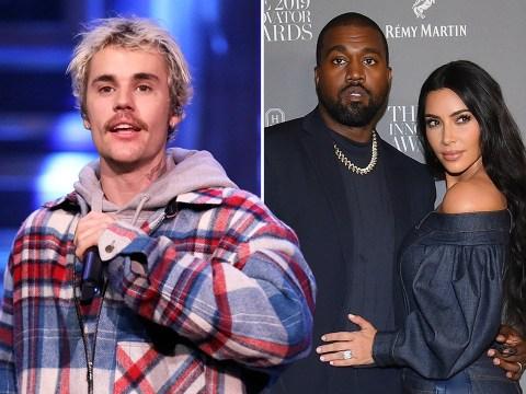 Justin Bieber encouraged Kanye West to 'stop avoiding and talk to' wife Kim Kardashian