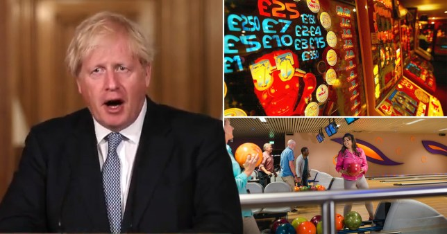 Boris Johnson, a casino and a bowling alley