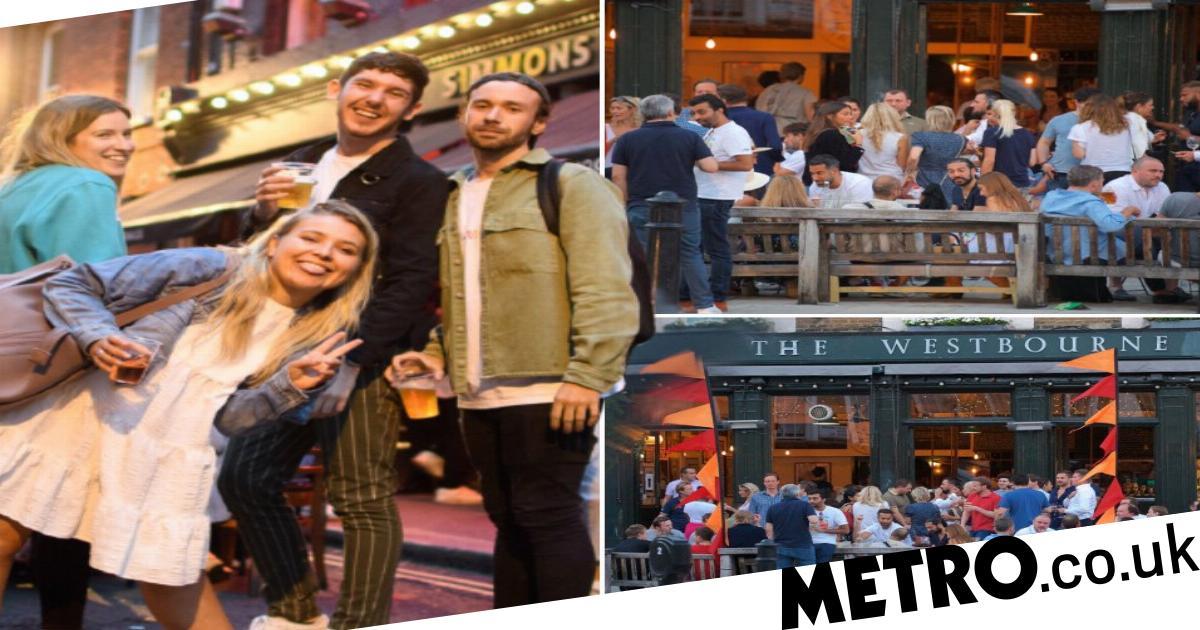 Londoners face second lockdown if they don't keep distance, Matt Hancock warns
