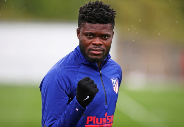 Atletico Madrid midfielder Thomas Partey is one of Arsenal's top targets for the summer transfer window