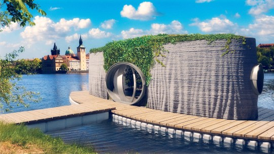 3d printed homes that can be set up in 22 hours