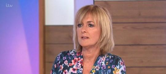 Mandatory Credit: Photo by ITV/REX (10697856t) Jane Moore 'Loose Women' TV show, London, UK - 01 Jul 2020
