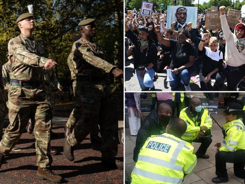 British military banned from taking the knee in support of Black Lives Matter