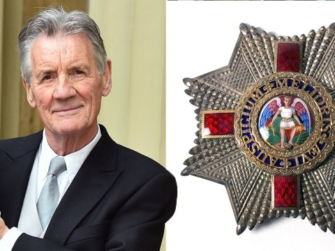 Sir Michael Palin backs calls for 'racist' design of Queen's honour to be changed