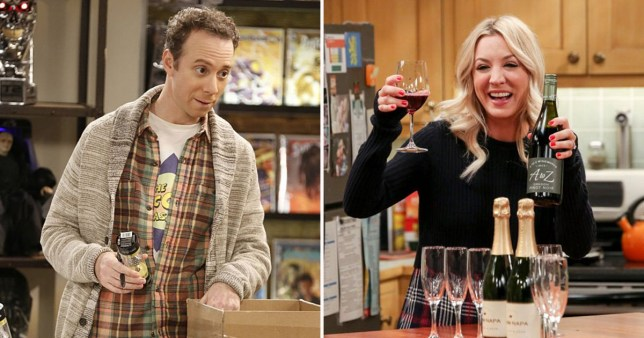 The Big Bang Theory's Stuart sends cute message to Kaley Cuoco as she celebrates wedding anniversary