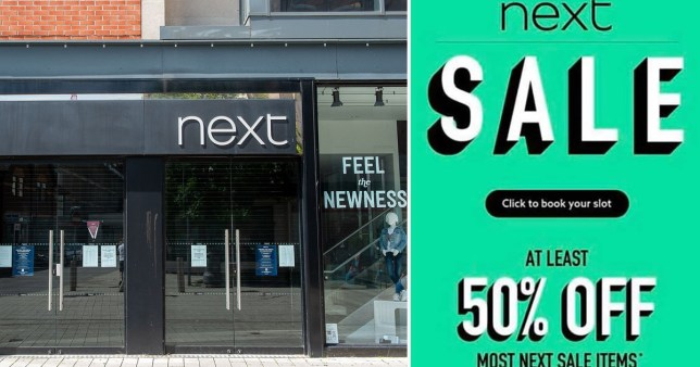 Next sales 5am