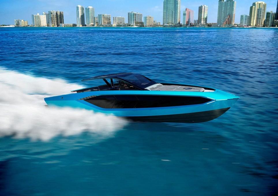 Lamborghini builds a 4,000 horsepower luxury yacht https://media.lamborghini.com/english Picture: Lamborghini