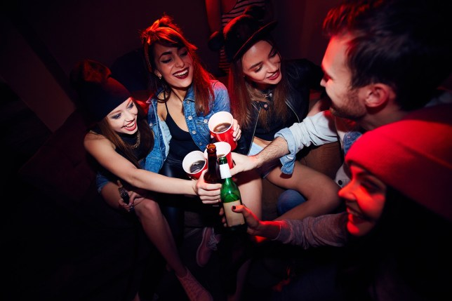 Students in US throwing 'Covid parties' to see who gets infected (Picture: Getty)