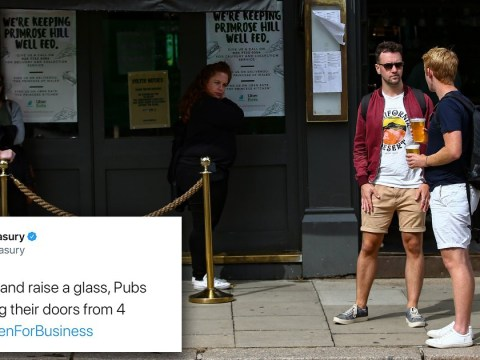 Government deletes 'tone deaf' tweet to grab a drink and celebrate pubs reopening