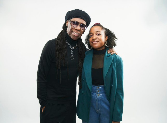 Undated handout photo issued by The Ivors Academy with Apple Music showing artist Amahla (right), a nominee for the new Rising Star Ivor Novello Award, with her mentor Nile Rodgers. PA Photo. Issue date: Monday July 6, 2020. The new award honours young British and Irish songwriters and composers who demonstrate exceptional potential and ambition. See PA story SHOWBIZ Ivors. Photo credit should read: The Ivors Academy with Apple Music/PA Wire NOTE TO EDITORS: This handout photo may only be used in for editorial reporting purposes for the contemporaneous illustration of events, things or the people in the image or facts mentioned in the caption. Reuse of the picture may require further permission from the copyright holder.