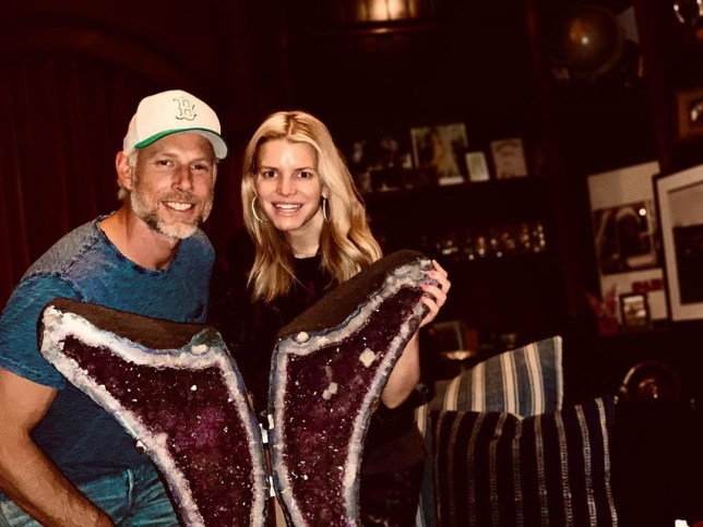 Jessica Simpson celebrates six years of marriage with Eric Johnson