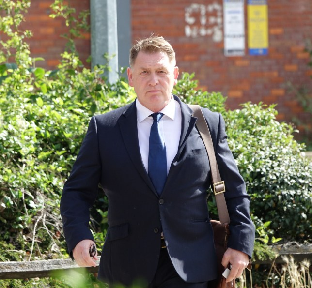 Former Labour MP Eric Joyce arrives at Ipswich Crown Court on July 7, 2020, before he admitted a child sex offence