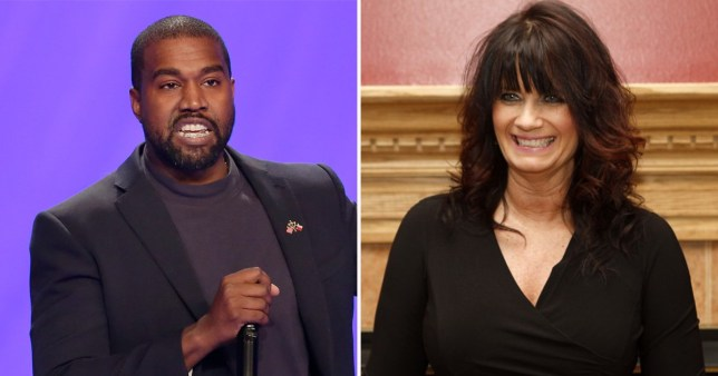 Kanye West's running mate Michelle Tidball