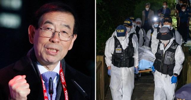Seoul mayor found dead