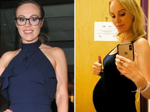 Pregnant Michelle Dewberry shares update as she spends fourth week in hospital after waters break early