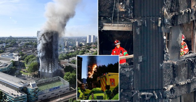 Grenfell Tower fire engineers gave no thought to evacuating disabled residents because it wasn't required by law, inquiry told (Picture: Getty)