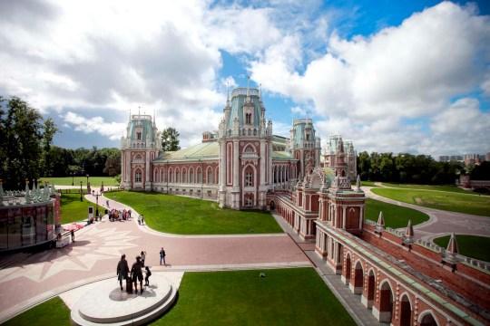 Musée Tsaritsyno.  Grand Palais