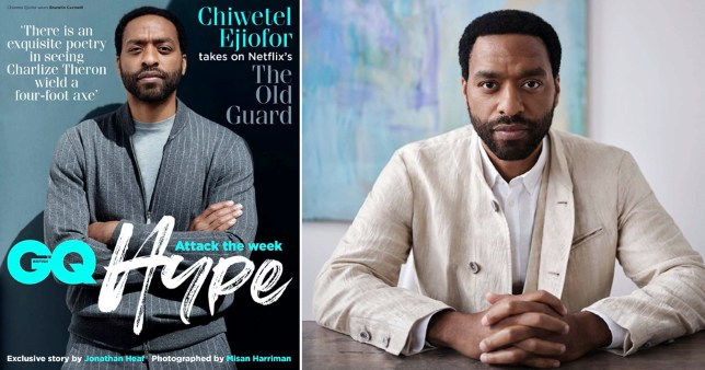 Chiwetel Ejiofor appears on the front cover of GQ Hype
