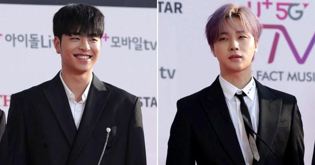 iKON's Koo Jun Hoe and Kim Jin Hwan