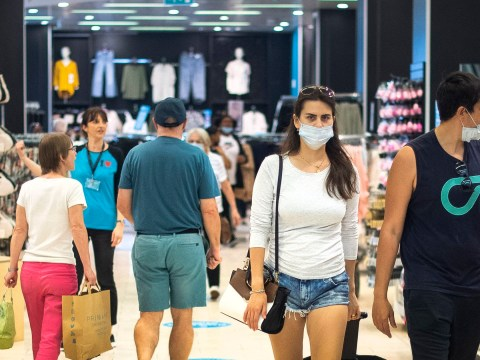 Face coverings to be made compulsory in shops in England from next week
