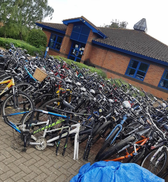 south beds news agency-luton-(fairleys)...stolen bikes found at an address in bedford