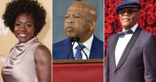 Celeb tributes to John Lewis - cast of Selma?