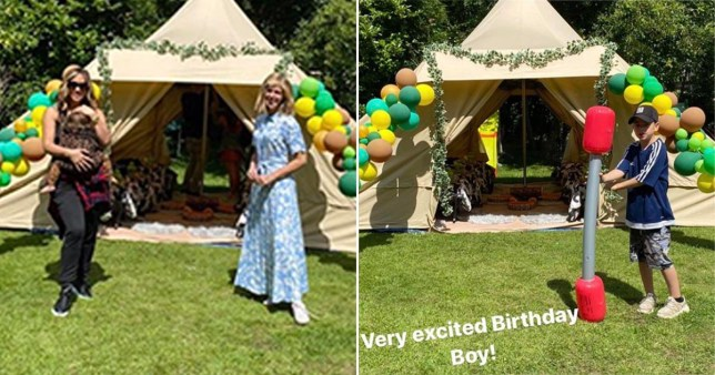 Kate Garraway arranging party for son Billy