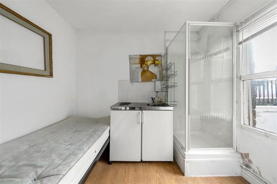 Micro studio flat
