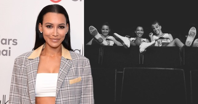 Dianna Agron shares Naya Rivera tribute from Glee set