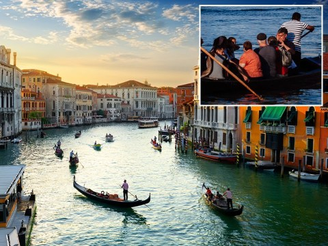 Venice gondolas reduce numbers of tourists on boats because some are 'too fat'