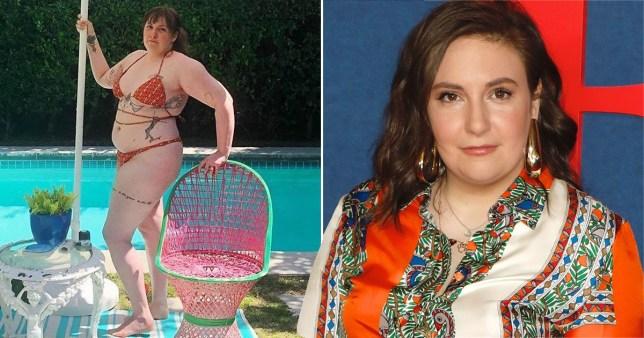 Lena Dunham is queen of having a back story to wearing a bikini - Metro.co.uk