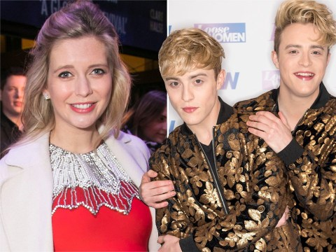 Jedward aren't too happy with Rachel Riley as she claims Wiley could ruin his career faster by collaborating with them