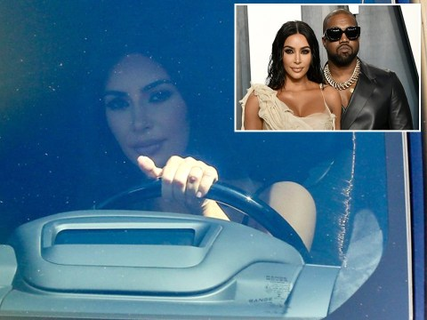 Kim Kardashian spotted for first time since husband Kanye West's apology for 'going public' with private life