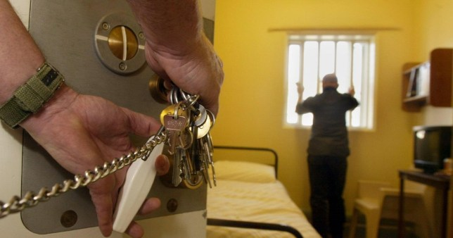 Prisoners held in solitary confinement conditions during lockdown Picture: PA