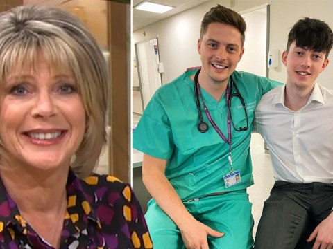 Ruth Langsford sends moving message to Love Island's Dr Alex George after his younger brother's death
