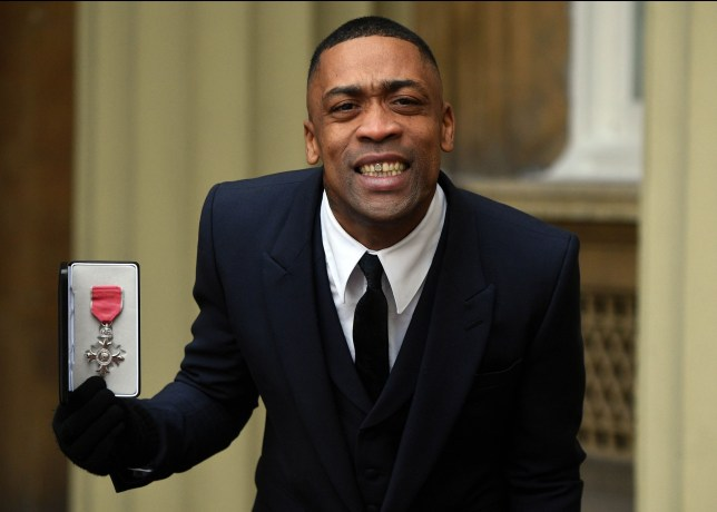 Wiley the 'godfather of grime' with his MBE Investitures at Buckingham Palace, London