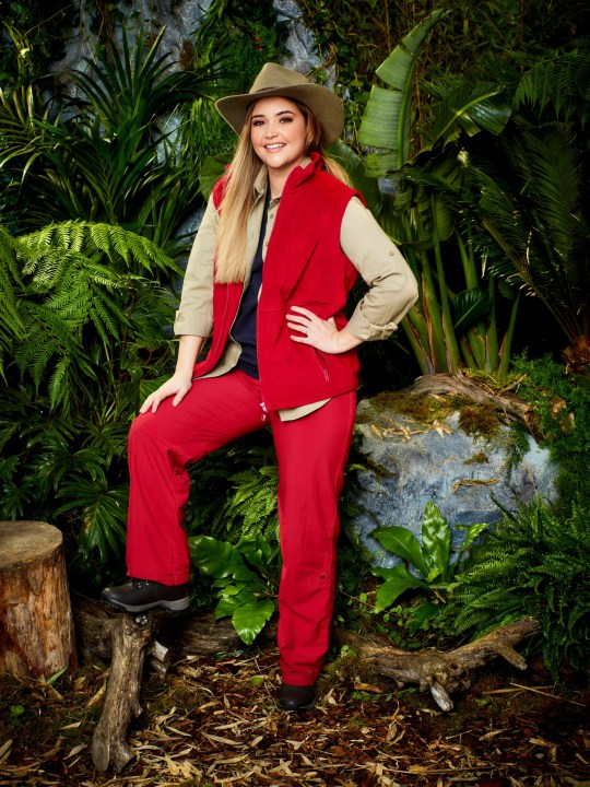 STRICT EMBARGO - NOT TO BE USED BEFORE 22:30 GMT 11 Nov 2019 - EDITORIAL USE ONLY Mandatory Credit: Photo by ITV/REX (10472208g) Jacqueline Jossa 'I'm A Celebrity... Get Me Out Of Here!' TV Show, Series 19, Campmates UK - Nov 2019