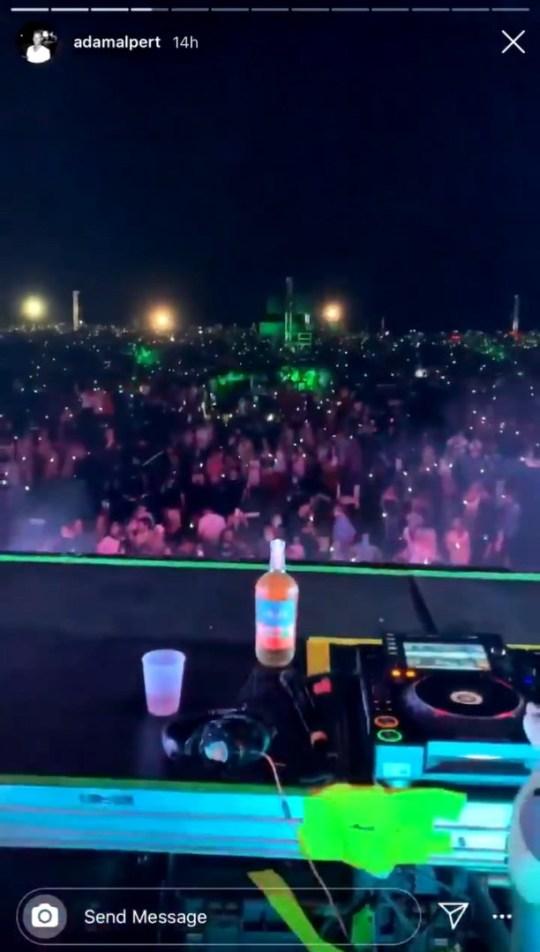 Chainsmokers concert in Hamptons