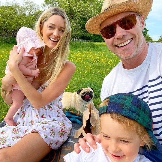 8570387 Ronan Keating reveals the ?tough? times he and wife Storm have faced with newborn Coco Knox in lockdown and jokes about his vasectomy plans