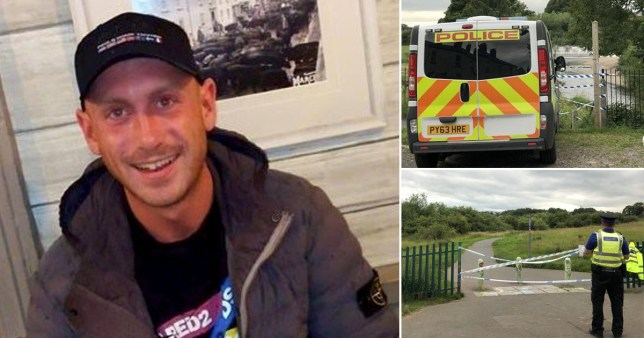 Four people have been charged with murder after the body of Lee McKnight, 26, was found in a river in Cumbria.