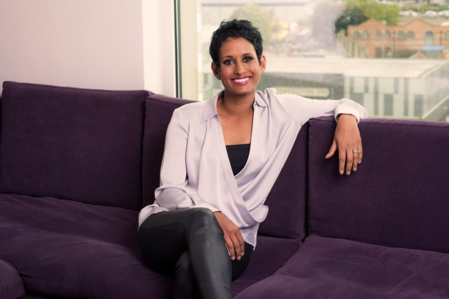 BBC Breakfast - TX BBC: n/a - Episode: n/a (No. n/a) - Picture Shows: Naga Munchetty - (C) BBC - Photographer: Steve Schofield