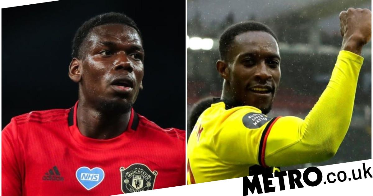 Paul Pogba sends message to ex-Man Utd star Danny Welbeck after his Watford goal - Metro.co.uk