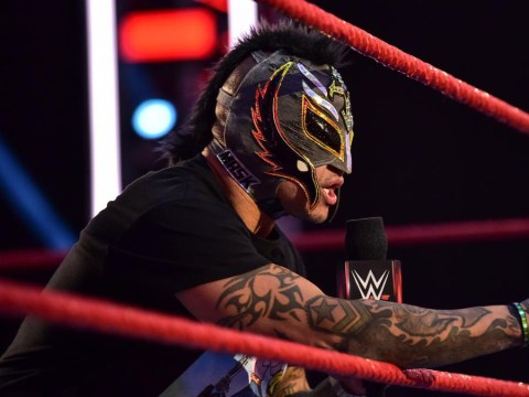 WWE legend Rey Mysterio shares unmasked photo with bloody wound after RETRIBUTION attack