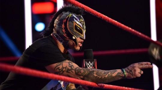 WWE legend Rey Mysterio