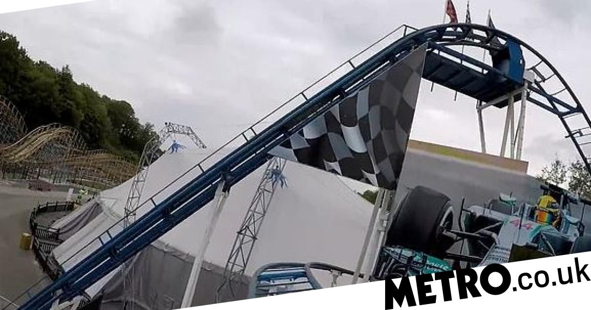 Woman dies falling from rollercoaster after husband 'tries to catch her foot' - metro